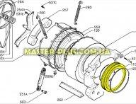 Резина (манжет) люка Zanussi 1320041054 для стиральной машины