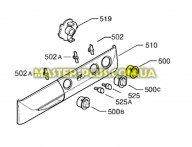Ручка переключения режимов работы для cтиральной машины Zanussi 1320596602