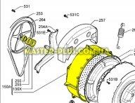 Задняя часть бака Zanussi 1320639626 для стиральной машины