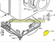 Лючок насоса Electrolux Zanussi 1321060004 для стиральной машины