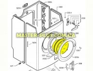 Стекло дверки (люка) Electrolux 1322245000 для стиральной машины