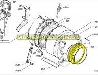Резина (манжет) люка Electrolux 1323230001 для стиральной машины