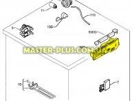Модуль (плата)  без прошивки Electrolux 1324017209 для стиральной машины