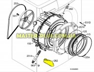 Активатор (ребро барабана) Electrolux 1325616009 для стиральной машины
