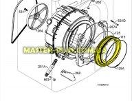 Резина (манжет) люка Electrolux 1326631007 для стиральной машины