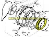Резина (манжет) люка Electrolux 1326631023 для стиральной машины