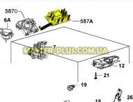 Модуль индикации Electrolux 140002753089 для стиральной машины
