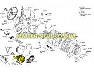 Мотор Bosch 140867 для пральної машини