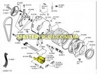 Мотор коллекторный Bosch Siemens 141710 для стиральной машины