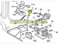 Пресостат (датчик уровня воды) Electrolux 1503260109 для стиральной машины