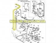 Шланг сливной Electrolux  1509564009 для посудомоечной машины