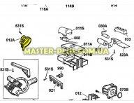 Пресостат (датчик уровня воды) Electrolux 1509566103 для посудомоечной машины