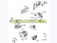 Пресостат (датчик уровня воды) Electrolux 1528189028 для посудомоечной машины
