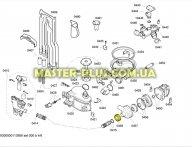 Уплотнительная резинка Bosch 171598 для посудомоечной машины