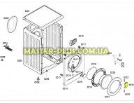 Ручка дверки (люка) Bosch 183607 для стиральной машины