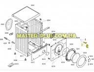 Крючок дверки в сборе Bosch 183608 для стиральной машины