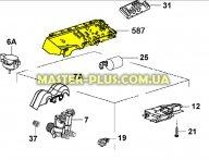 Модуль (плата управления) Electrolux 1929105144 для стиральной машины