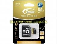 Карта памяти Team 32GB microSD class 10 UHS| U3 (TUSDH32GU303)