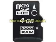 Карта памяти GOODRAM 4Gb microSDHC class 10 (SDU4GHCGRR10)