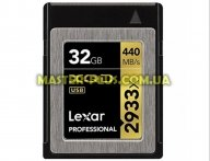 Карта памяти Lexar 32GB XQD 2933X Professional (LXQD32GCRBEU2933BN)