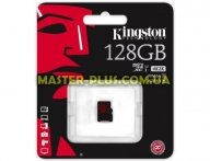 Карта памяти Kingston 128GB microSDXC class10 UHS-I U3 (SDCA3/128GBSP) для компьютера