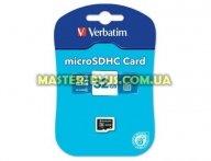 Карта памяти Verbatim 32GB microSDHC class 4 (44008) для компьютера