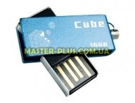USB флеш накопитель GOODRAM 16Gb Cube Blue (PD16GH2GRCUBR9) для компьютера