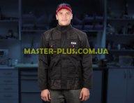Куртка робоча чорно-червона (XL) Yato YT-8023 для спецодягу та засоби захисту