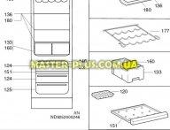 Перегородка для ящика овощей Electrolux 2053841140