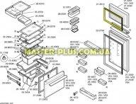 Уплотнительная резина морозильной камеры Bosch 212470 для холодильника