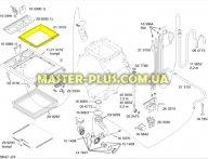 Рамка верхняя Bosch 213153 для стиральной машины
