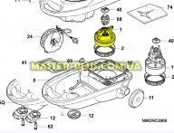 Мотор Electrolux 2190122008 для пылесоса
