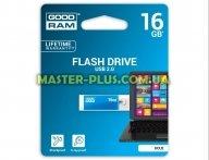 USB флеш накопитель GOODRAM 16GB UCU2 Cube Blue USB 2.0 (UCU2-0160B0R11)