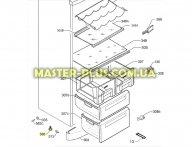 Ножка для холодильника Electrolux 2230099141