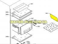 Перегородка для холодильника Electrolux 2232055042 для холодильника