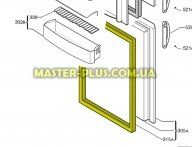 Уплотнительная резинка на морозильную камеру  Electrolux 2248007656 для холодильника