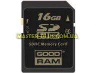 Карта памяти GOODRAM 16Gb SDHC class 4 (SDC16GHC4GRR9)