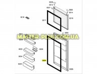 Резина дверки Холодильного отделения Bosch 242286 для холодильника