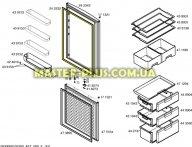 Уплотнительная резина холодильной камеры  Bosch 242323 для холодильника