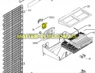 Мотор вентилятора обдува Zanussi 2425775042