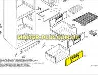 Панель ящика  морозильной камеры (нижняя) Electrolux 2426336067