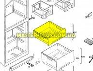 Ящик морозильной камеры (верхний) Electrolux 2426357097