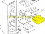 Ящик морозильной камеры (Верхний) Electrolux AEG 2426357162 для холодильника