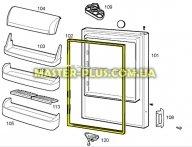 Резина двери холодильной камеры Electrolux 2426448029 для холодильника