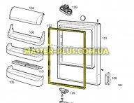 Резина двери холодильной камеры Electrolux 2426448102 для холодильника
