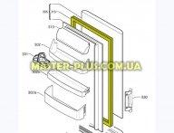 Резина двери холодильной камеры Electrolux 2426448201
