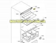 Завес (петля) верхняя левая Electrolux 2426834038 для холодильника