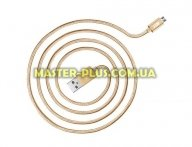 Дата кабель JUST Copper Micro USB Cable 2M Gold (MCR-CPR2-GLD)