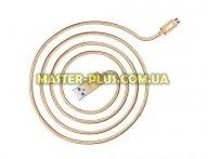 Дата кабель JUST Copper Micro USB Cable 2M Gold (MCR-CPR2-GLD) для мобильного телефона