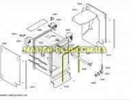 Уплотнительная резина дверцы Bosch 263096